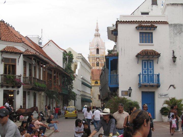 Foto de una calle in Cartagena.