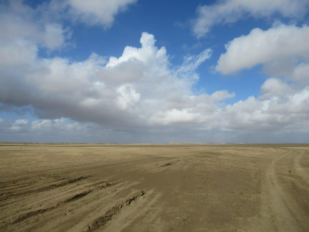 A view of the desert you will have to cross when getting to Punta Gallinas..