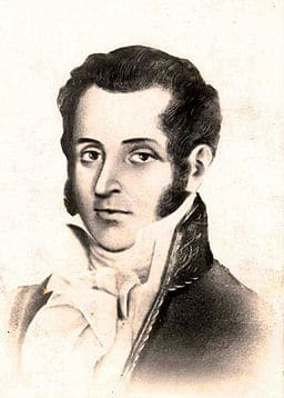 Black and white portrait of Rodríguez Torices.