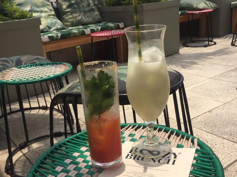 Saturday Morning at a Rooftop Bar – A Review Townhouse's Boozy Brunch