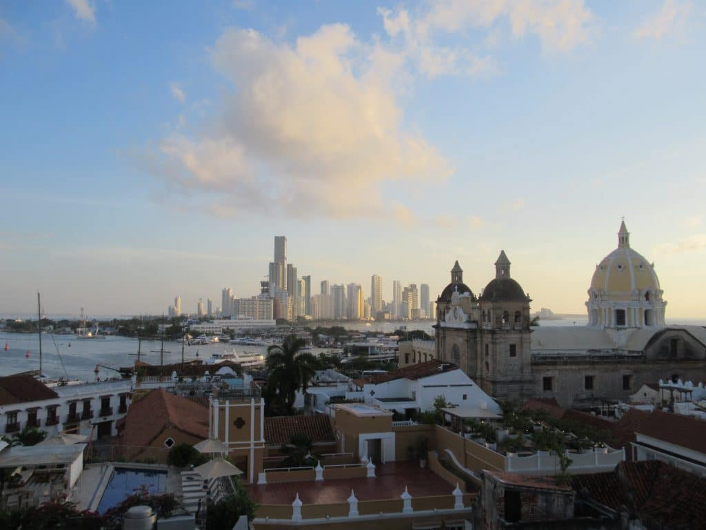Photo of Cartagena's skyline.