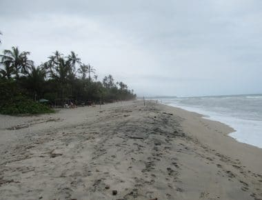 Photo of the beach at Playa Costeño.