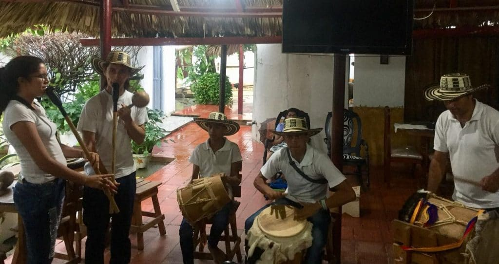 Gaita band in San Jacinto