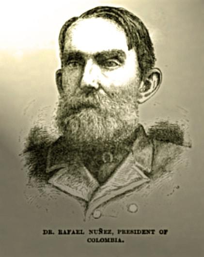 Portrait photo of Rafael Nuñez with a beard.