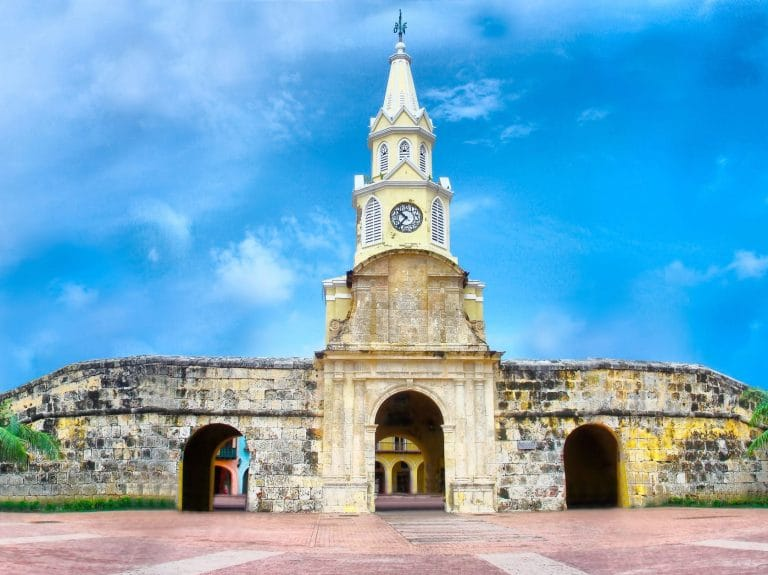 Clocktower Cartagena, Colombia