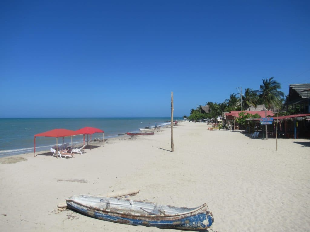Photo of the beach in Rincón, Colombia