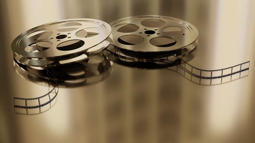 Photo of two film reels