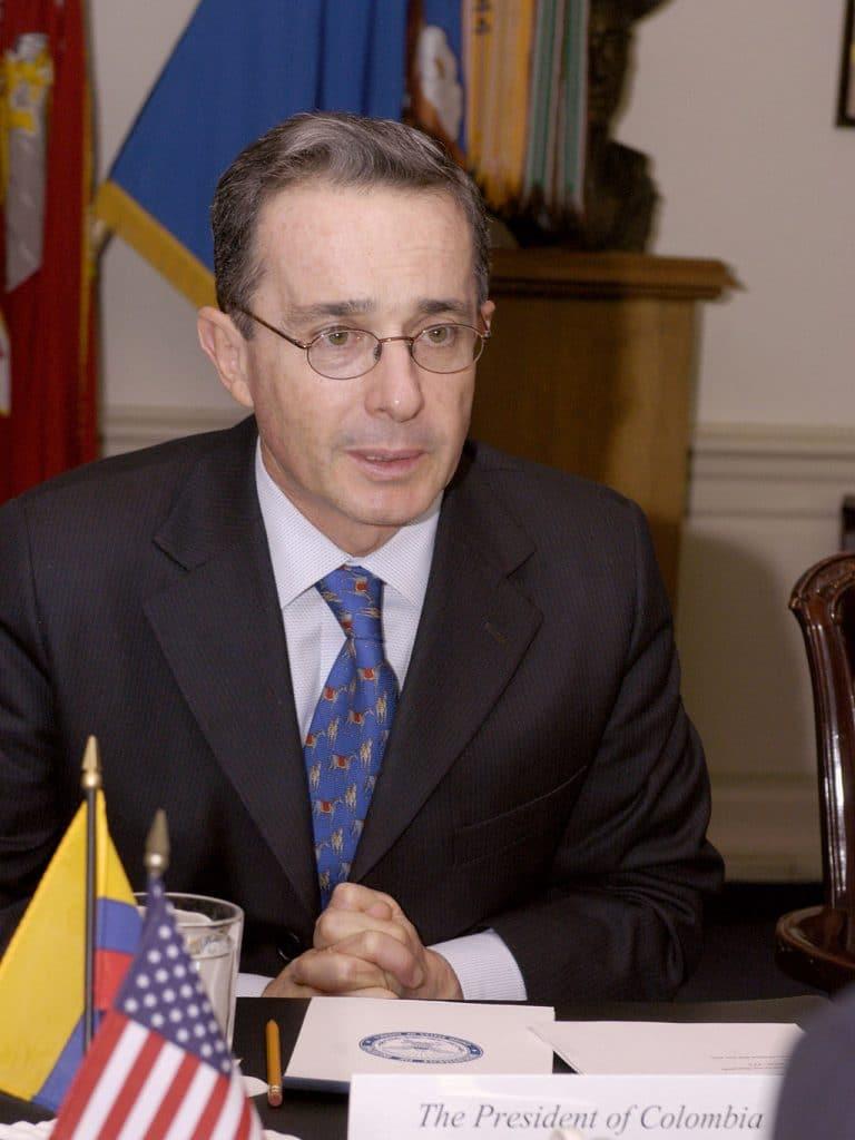 Photo of Alvaro Uribe
